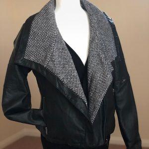 Black Pleather Jacket